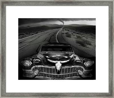 King Of The Highway Framed Print by Larry Butterworth