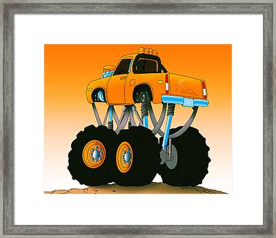 Framed Print featuring the painting King Of The Hill by Lynn Rider