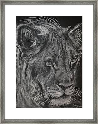 King Of The Kruger Framed Print