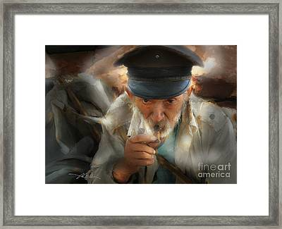 King Of The Road - Cuba Framed Print by Bob Salo