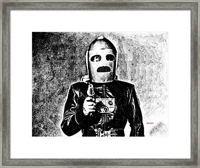 King Of The Rocketmen Framed Print by Don Barrett