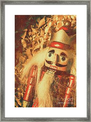 King Of The Toy Cabinet Framed Print by Jorgo Photography - Wall Art Gallery