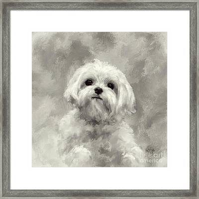 King Of The World Framed Print by Lois Bryan
