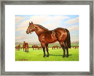 King P-234 No.two Framed Print by Howard Dubois