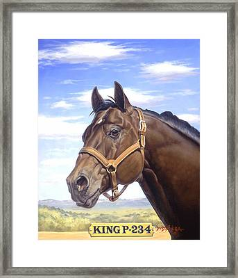 King P234 Framed Print