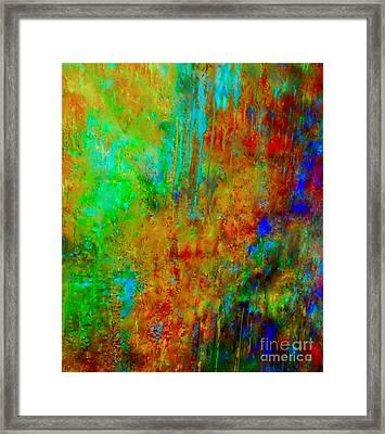 King Solomon's Gemstones Tunnel Framed Print