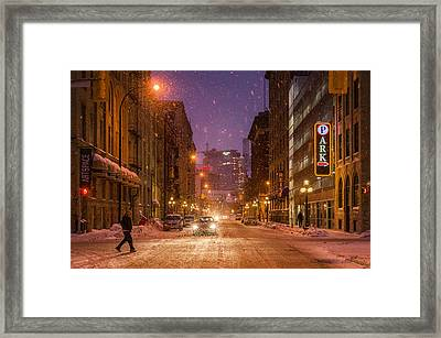 King Street Framed Print by Bryan Scott