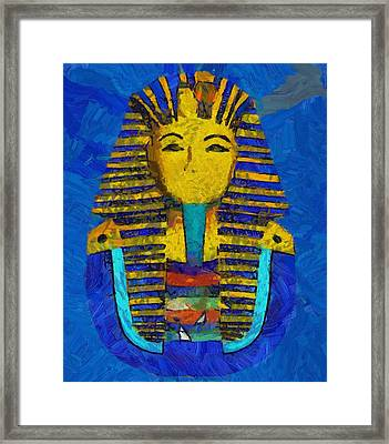 King Tut Framed Print