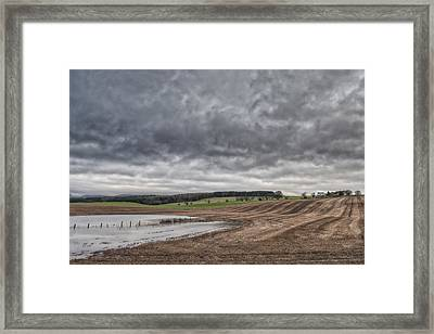 Kingdom Of Fife Framed Print