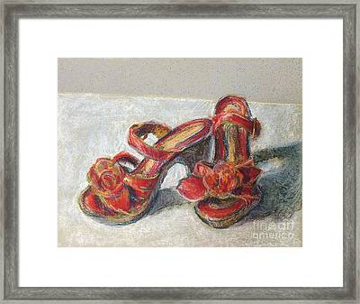 Kingdom Shoes Framed Print
