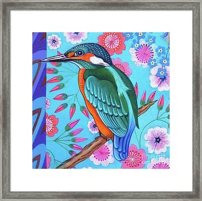 Kingfisher Framed Print by Jane Tattersfield