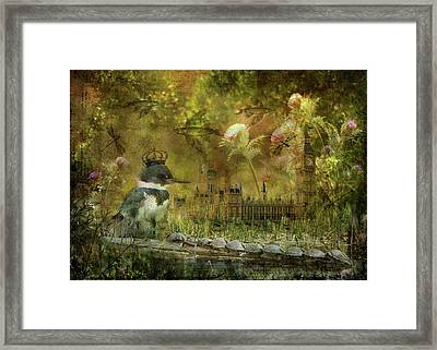 Kingfisher's Realm Framed Print