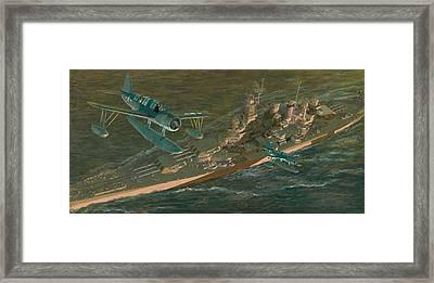 Kingfishers Return To The Showboat Framed Print