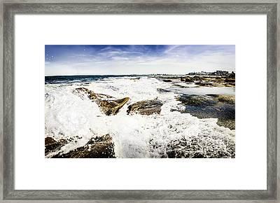 Kings Beach Seascape Framed Print by Jorgo Photography - Wall Art Gallery