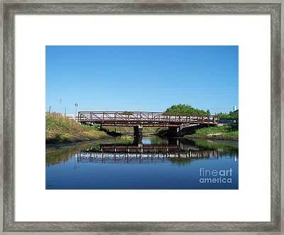 Kings Bridge Framed Print