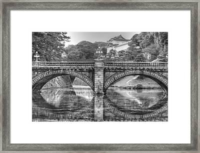 Kings Bridge Tokyo Framed Print