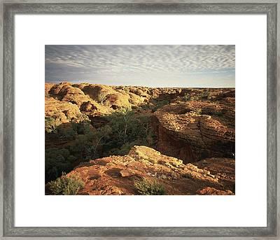 Kings Canyon, Central Australia Framed Print