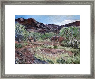 Kings Canyon II Framed Print by Joan De Bot