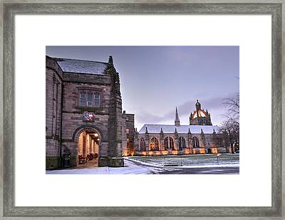 King's College - University Of Aberdeen Framed Print