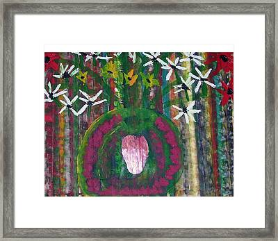 Kings Flowers Framed Print by Russell Simmons