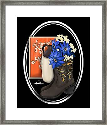 King's Moonshine  Framed Print