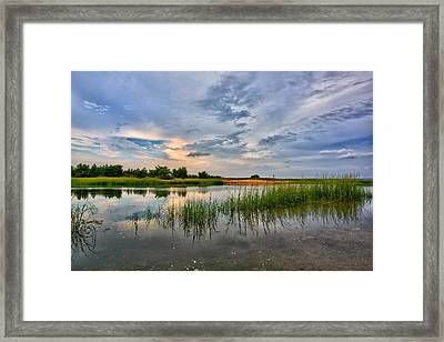 Kings Park Bluffs Framed Print
