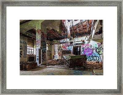 Kings Park Psychiatric Center Framed Print