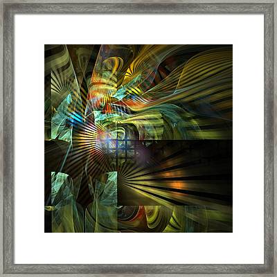 Framed Print featuring the digital art Kings Ransom by NirvanaBlues