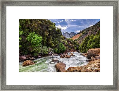 Kings River Framed Print