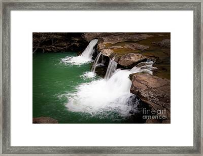 Kings River Falls Framed Print by Tamyra Ayles