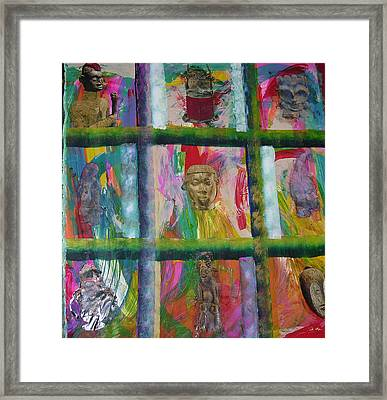 Kings Row Framed Print by Russell Simmons