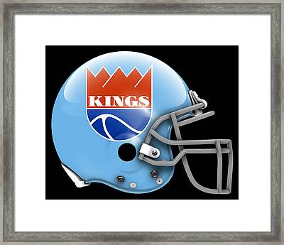 Kings What If Its Football 2 Framed Print by Joe Hamilton