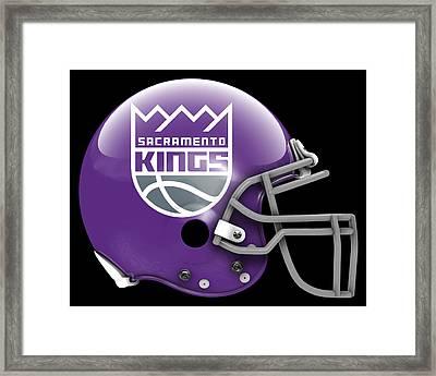 Kings What If Its Football 3 Framed Print by Joe Hamilton