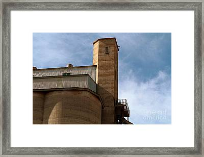 Framed Print featuring the photograph Kingscote Castle by Stephen Mitchell