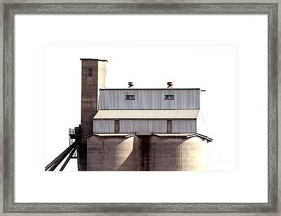 Framed Print featuring the photograph Kingscote Skyrise by Stephen Mitchell