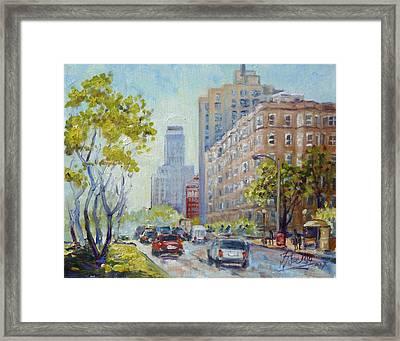 Kingshighway Blvd - Saint Louis Framed Print