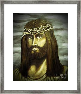 King Of Kings Framed Print by Jaren Johnson