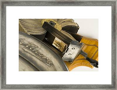 Kinora, Lumiere Brothers Invention Framed Print by Wellcome Images