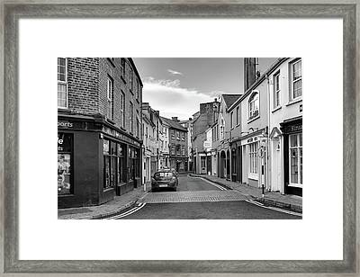 Kinsale Side Street Framed Print