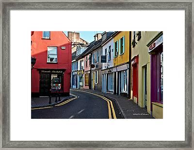 Kinsale Street Framed Print