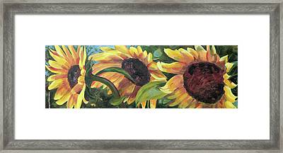 Kinship Framed Print by Trina Teele