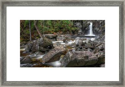 Kinsman Falls Framed Print by Bill Wakeley