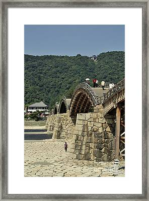 Kintai Bridge Iwakuni Japan Pt Framed Print by Andy Smy