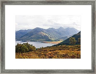 Kintail - Wester Ross, Scotland Framed Print