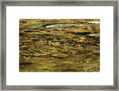 Kintla Zen Framed Print by Adam Jewell