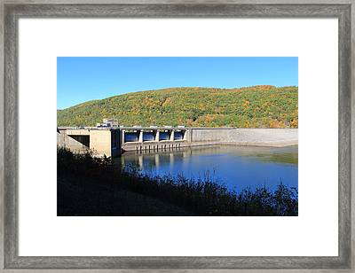 Framed Print featuring the photograph Kinzua Dam by Rick Morgan