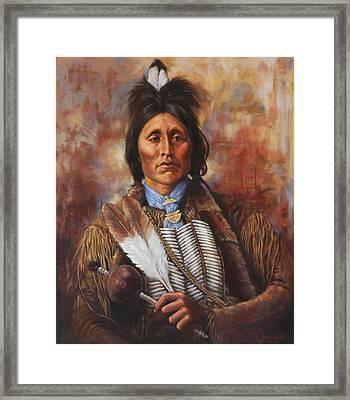 Kiowa Framed Print by Harvie Brown