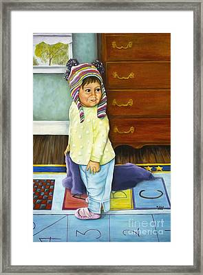 Kira Framed Print