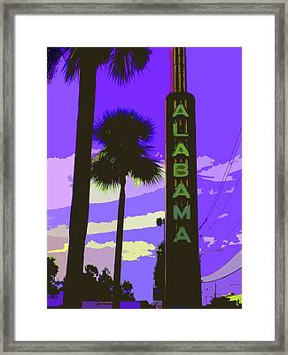 Kirby And Alabama Framed Print by Derick Van Ness