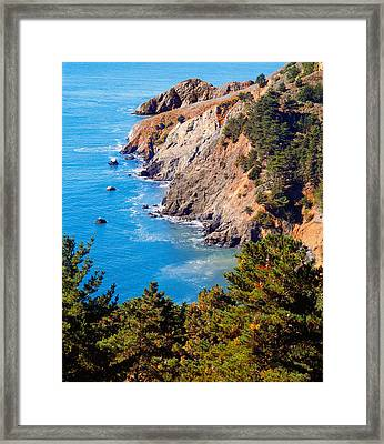 Kirby Cove San Francisco Bay California Framed Print by Utah Images